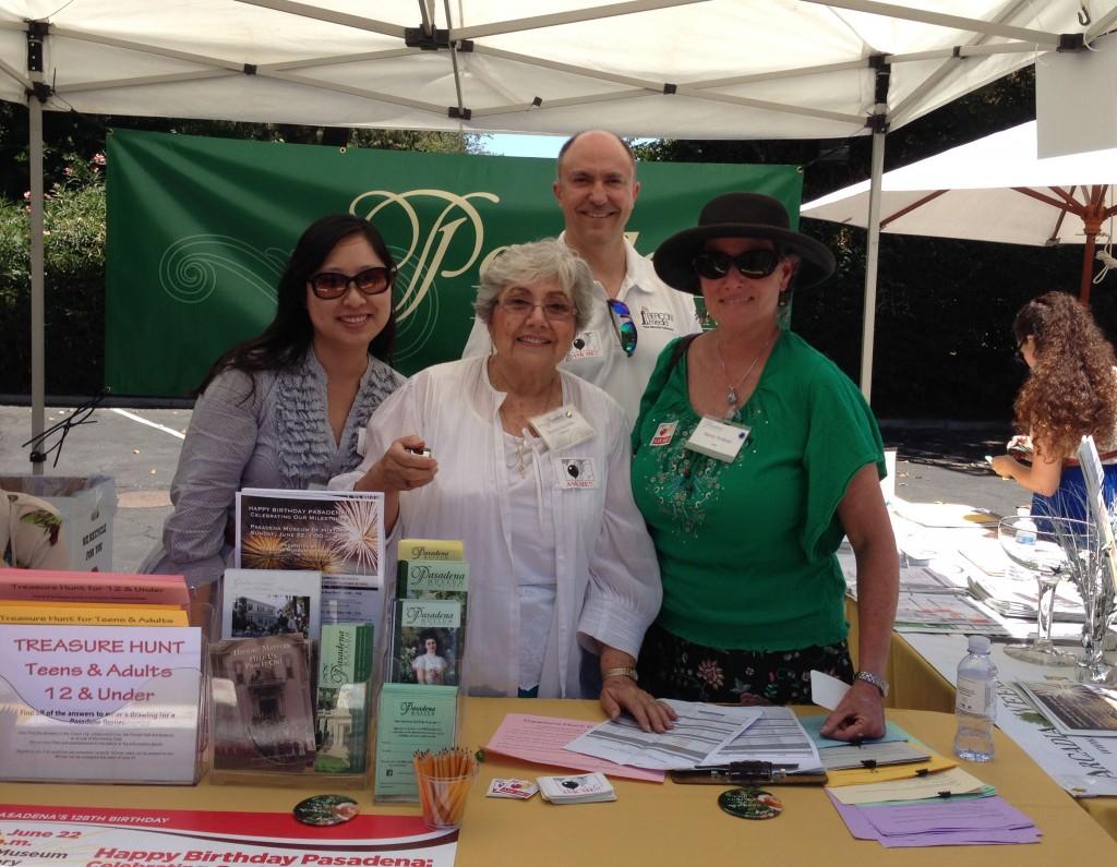 Volunteers at 2014 Happy Birthday Pasadena