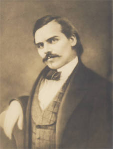 Thaddeus Lowe as a young man