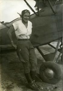 Pasadena aviatrix Yolanda Spirito, circa 1930