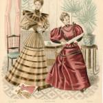"""La Mode Francaise,"" fashion plate"