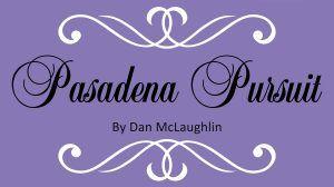 Pasadena Pursuit exhibit logo