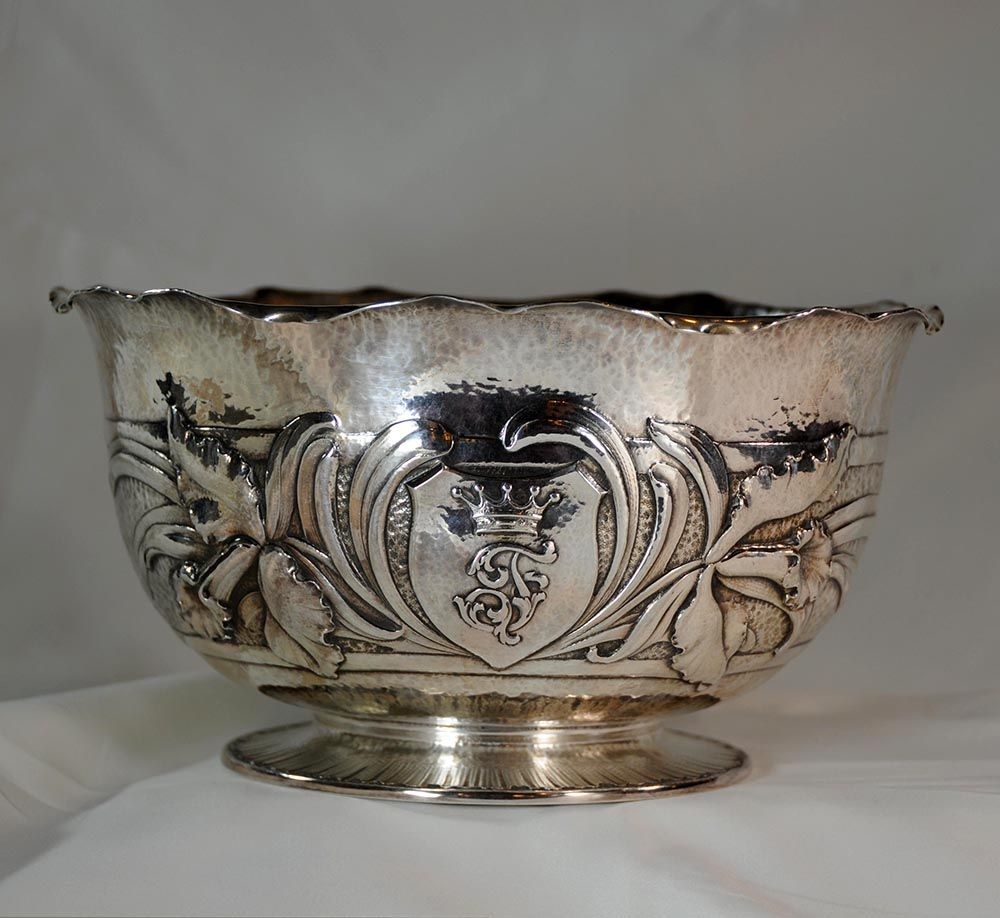 Friedell silver bowl