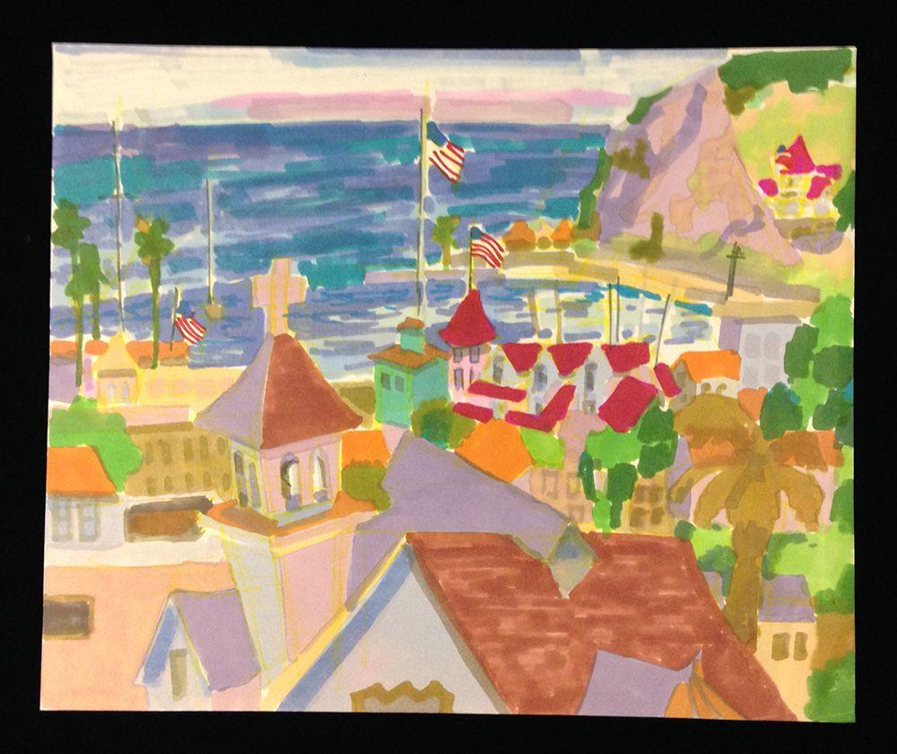 Catalina Island by Jae Giddings Carmichael