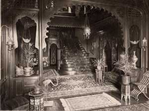 Middle Hall of the Algerian Court, circa 1897