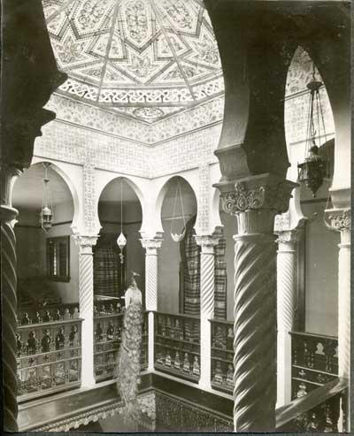Eva Fenyes' Algerian Court, circa 1897