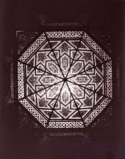 Stained Glass over the Middle Hall, 1899.