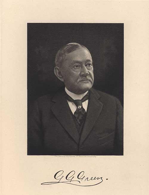 Portrait of Colonel Green
