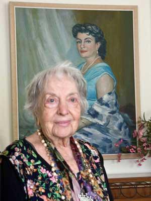 Centenarian Raisa Ell by Eric Politzer