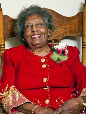 Centenarian Corrie Harris by Eric Politzer