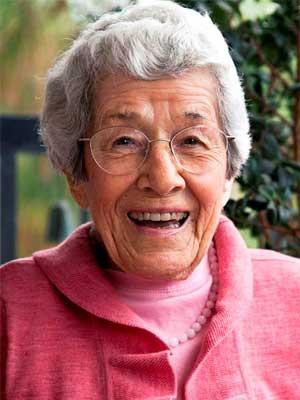 Centenarian Claire Wilcott by Eric Politzer