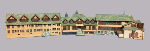 Replica of Ye Alpine Tavern from the collections