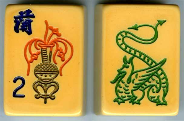 tiles used for mah jong games