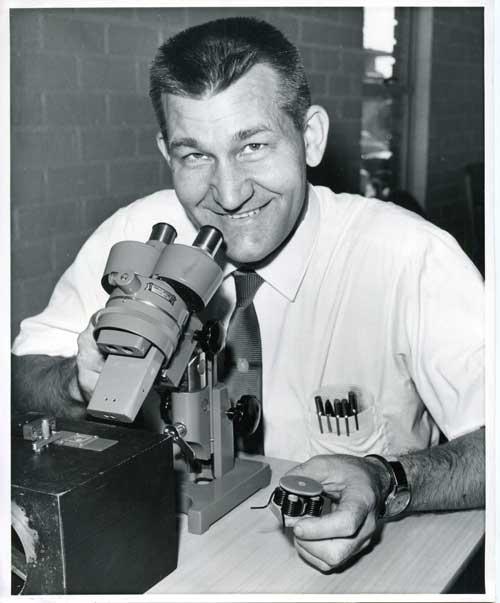 McLellan with micromotor