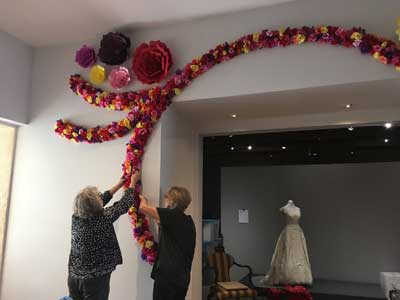 installing the Rose Hall