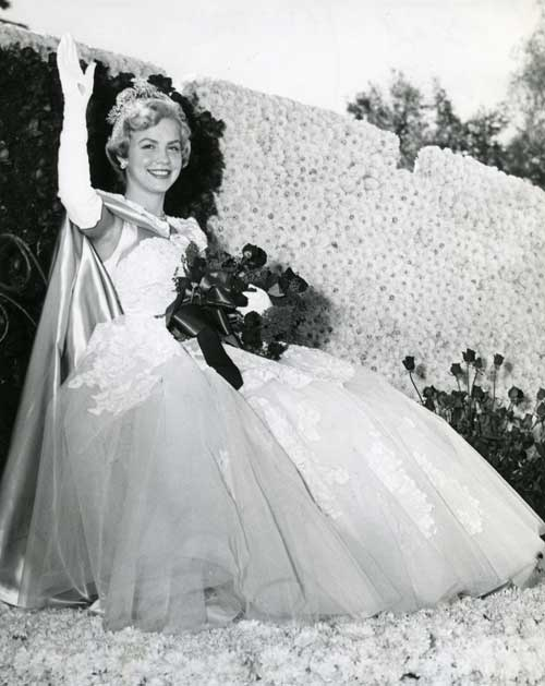 1956 Rose Queen wearing William Cahill