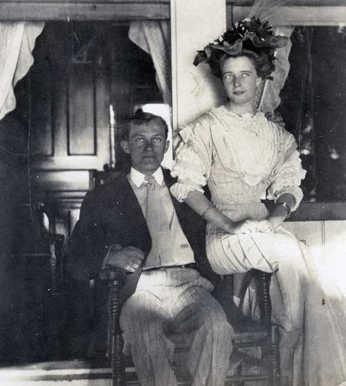 G.G. Green, Jr. and wife Agnes