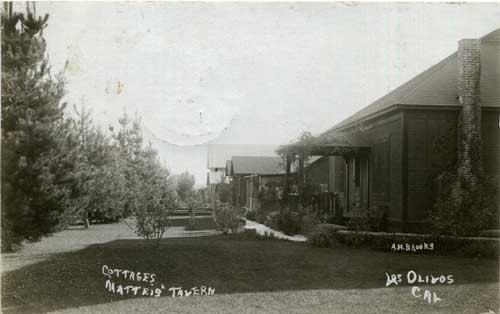 Eva's Los Olivos postcard