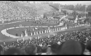 1924 graduation in Rose Bowl