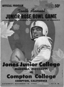 1955 Junior Rose Bowl program