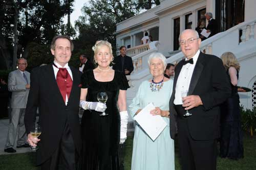 Trustees at the 2012 Gala