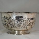 silver bowl by Clemens Friedell