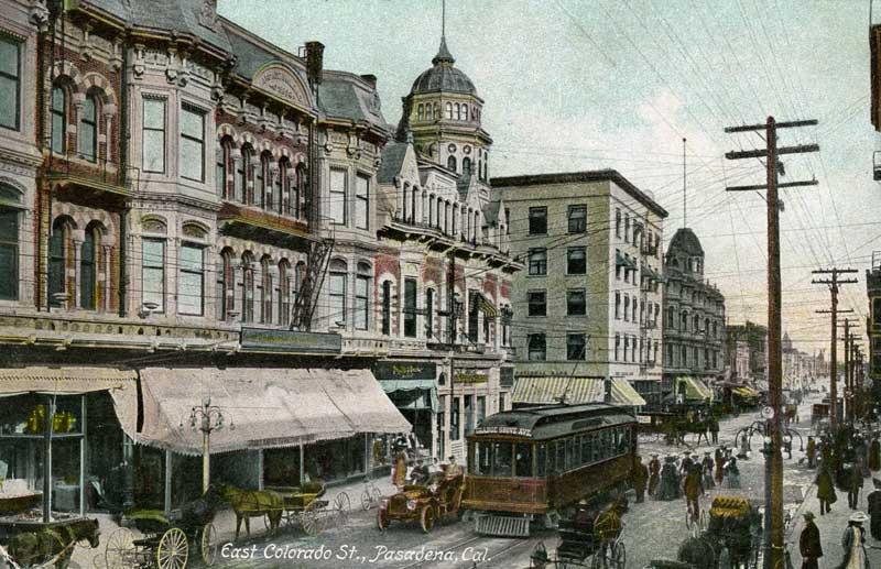 early Pasadena postcard