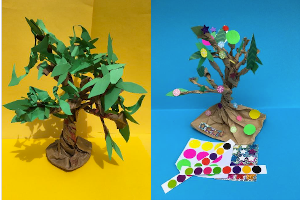 Oak tree craft by Art2Go